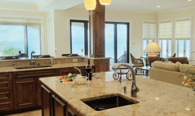 Floor Plan Kitchen Living Room Dining Open Plans