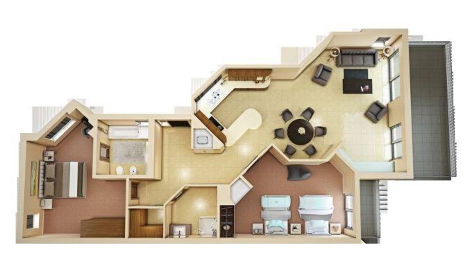 Floor Plan Model Max Cgtrader