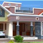 Floor Plan Modern Single Home Kerala Design