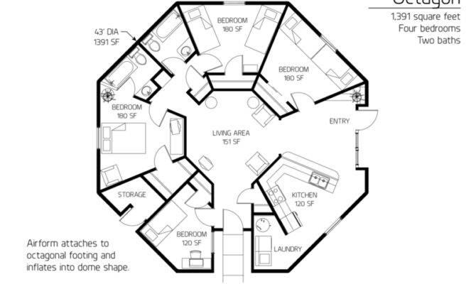 Floor Plan Monolithic Dome Institute