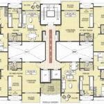 Floor Plan Residential Building Htjvj