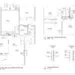 Floor Plan Sketches Displaying Interior Design