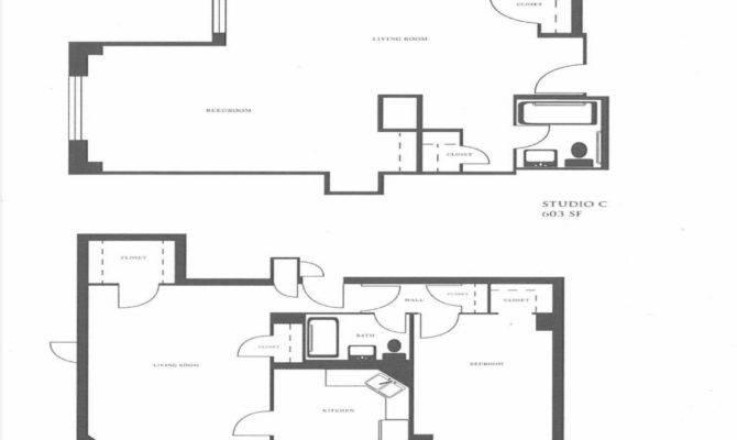 Floor Plan Studio Apartment Layouts One Bedroom Living Room