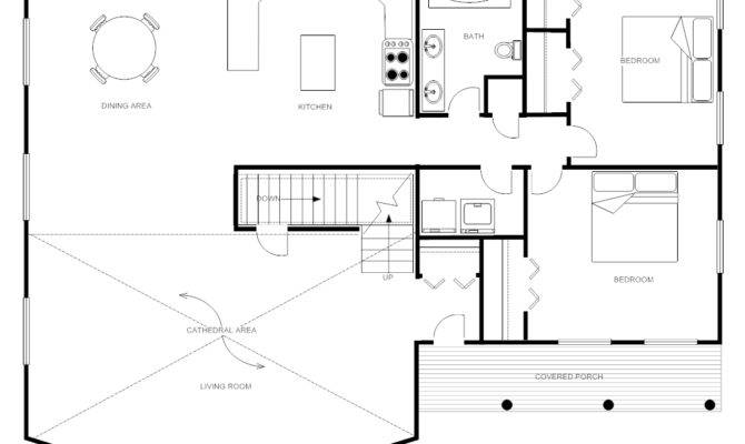 Floor Plan Templates Draw Plans Easily