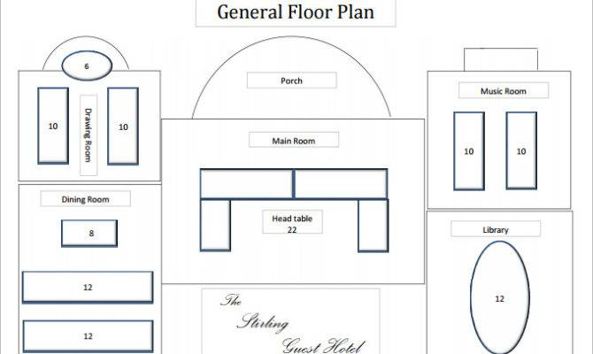 Floor Plan Templates Word Excel Pdf Documents