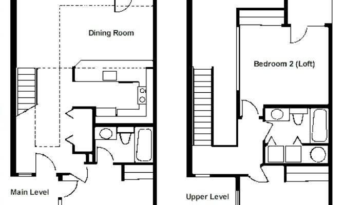 Floor Plan Two Bedroom Loft Rci Whispering