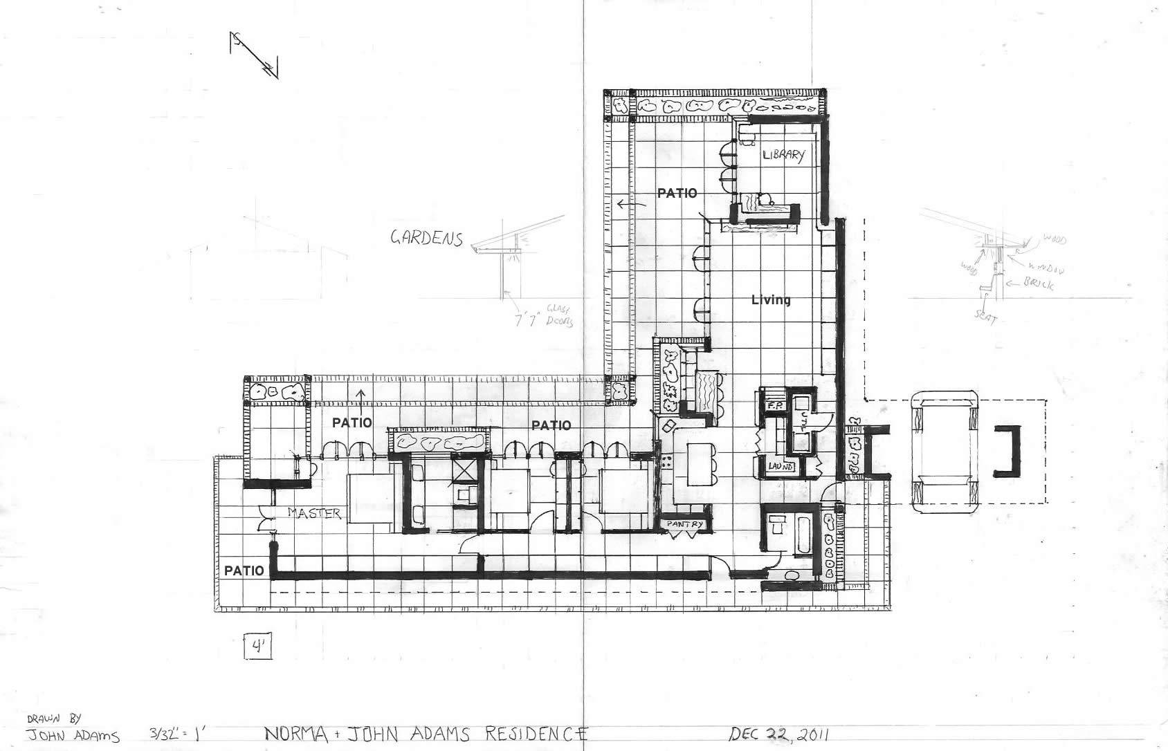 Floor Plan Usonian Dreams Our Frank