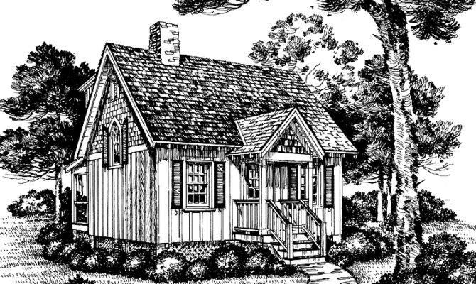 Floor Plans Aflfpw Story Cottage Home Bedroom