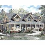 Floor Plans Aflfpw Story Log House Home Bedrooms