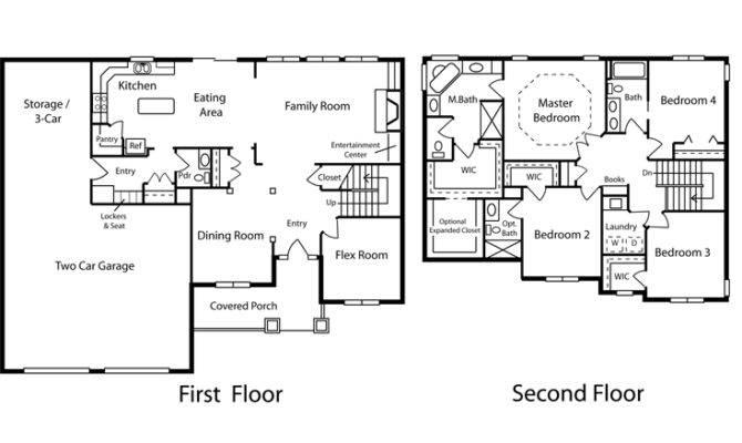 Floor Plans Barn Home Sample Planning
