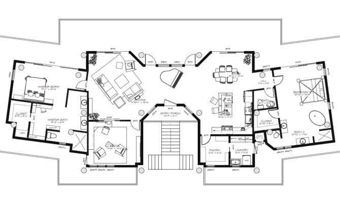 Floor Plans Beach House Simple
