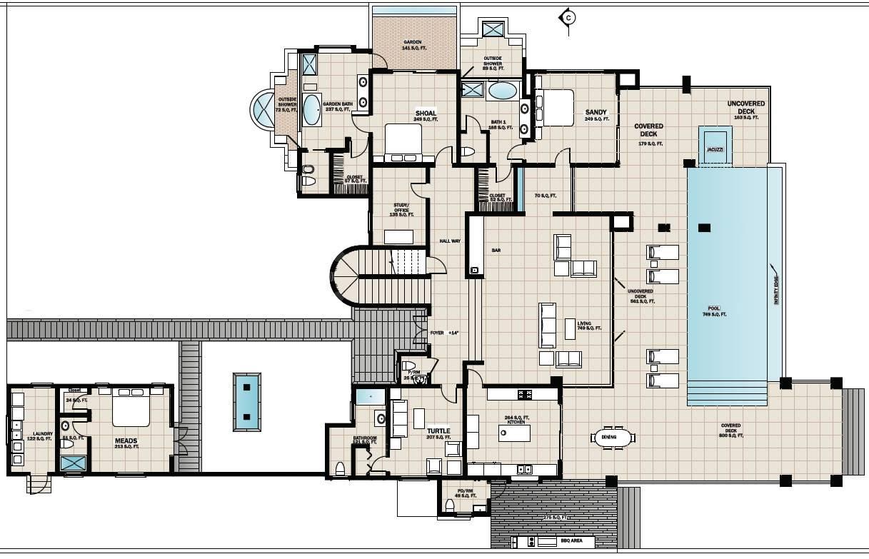 Floor Plans Beach House Home