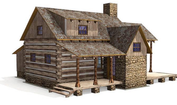 Floor Plans Cozy Cabin Historic Ranch