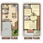 Floor Plans Garage Story Townhouse