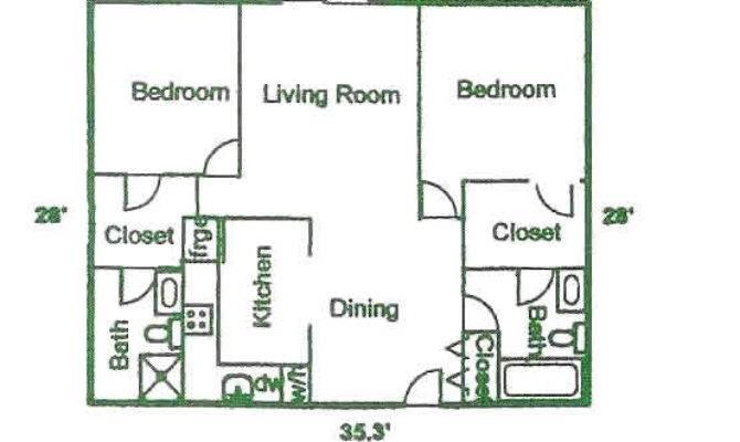 Floor Plans Hilcrest Park Apartments Waukesha