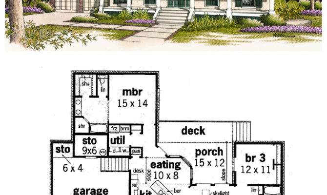 Floor Plans Living Room Front House