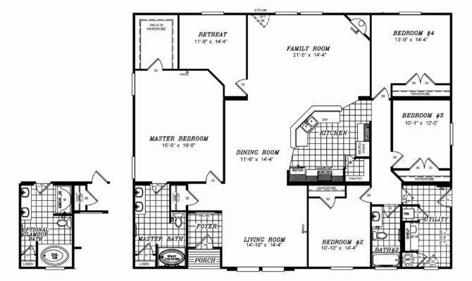 Floor Plans Modular Homes Luxury Triple Wide