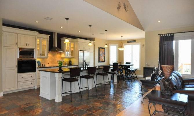 Floor Plans Open Kitchen Living Room