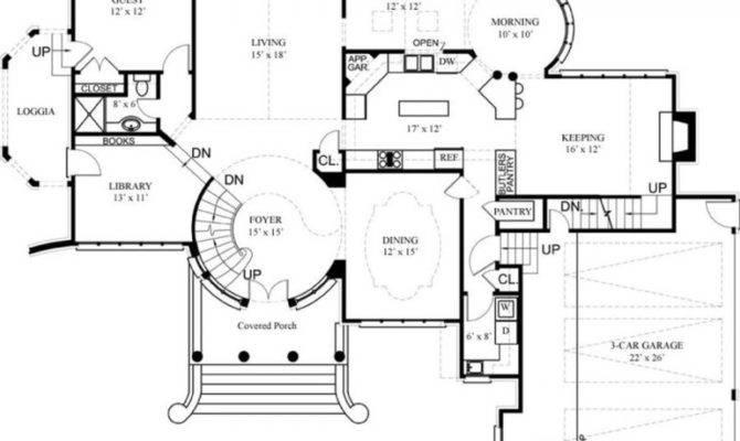 Floor Plans Plan Luxury House Designs