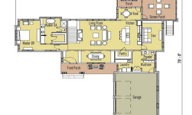 Floor Plans Ranch Homes Porch