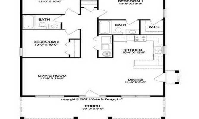 Floor Plans Small Houses Homes