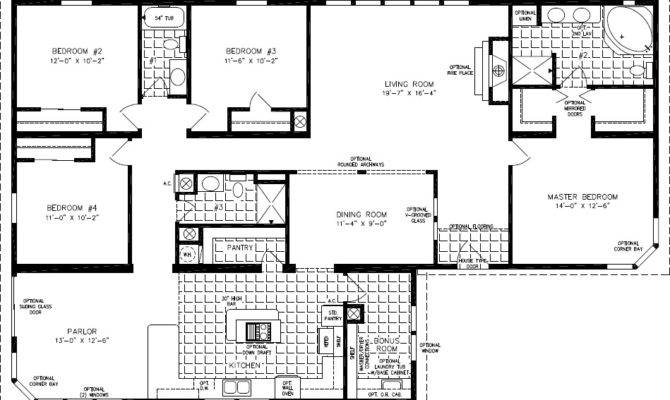 Floor Plans Square Feet Bedroom Home Deco
