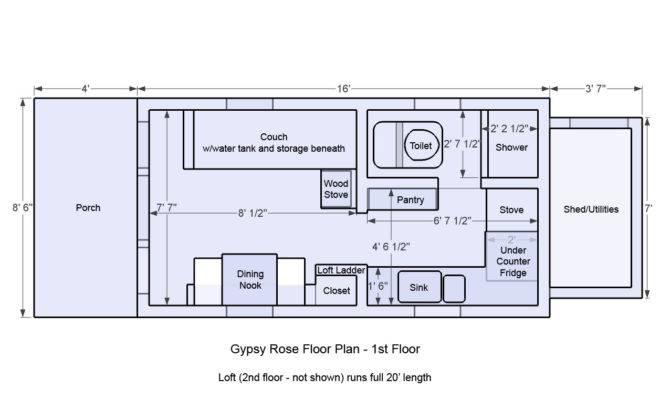 Floor Plans Tiny Houses House Plan