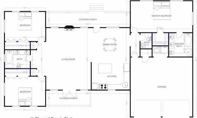 Flooring Open Floor Plans Patio Home Plan Houser