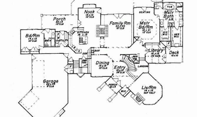 Floorplan Twostory Level House Plans Floor