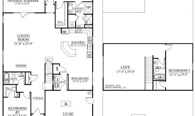 Floorplans House Plans Home Loft