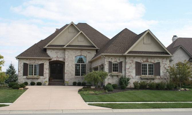 Flora Park Country French Home Plan House