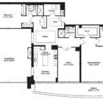 Florian Condos Davenport Floor Plans Square Feet Bedrooms