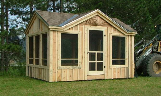 Florida Room Kits Screen House Plans Porch