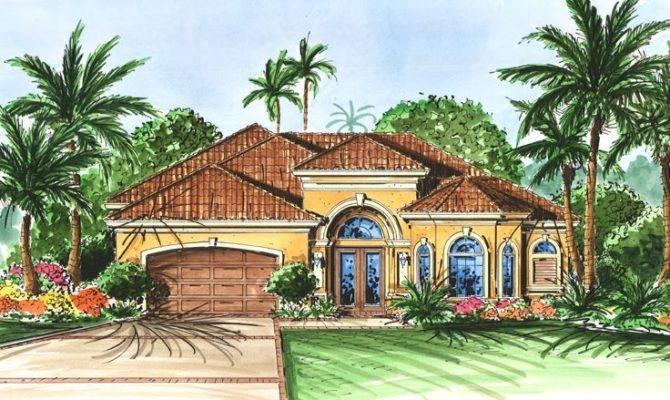 Florida Style House Plan Home