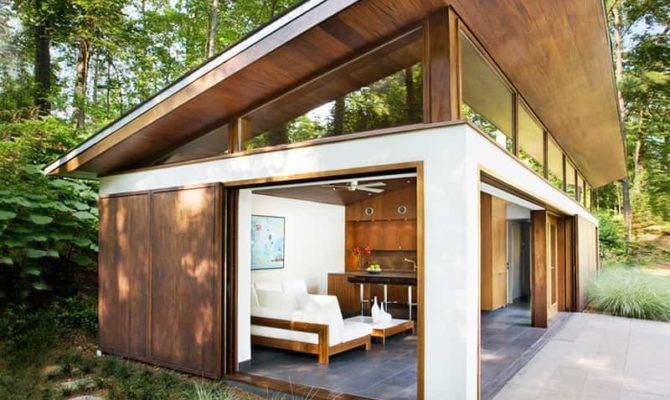 Focusing Views Modern Addition Old House