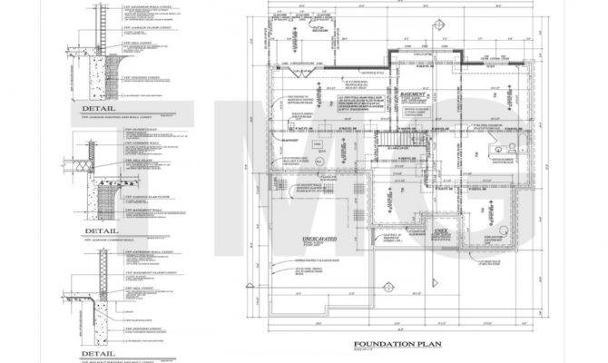 Foundation Plans Houses Container House Design