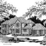 Four Bedroom English Cottage House Designs