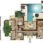 Four Bedroom Villa Floor Plan