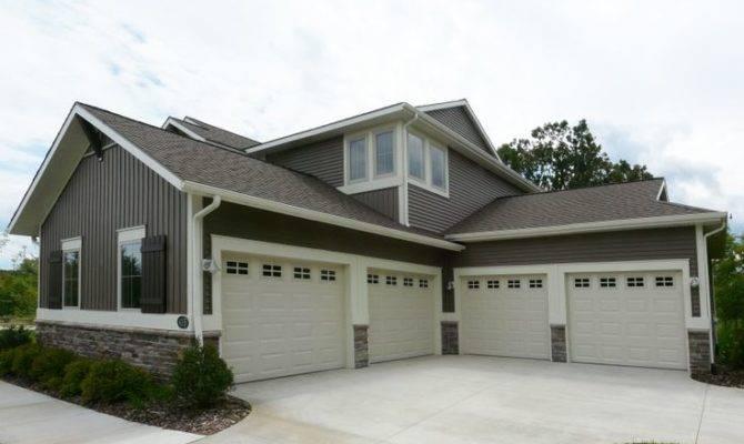 Four Car Garage Eastbrook Homes More House Plans