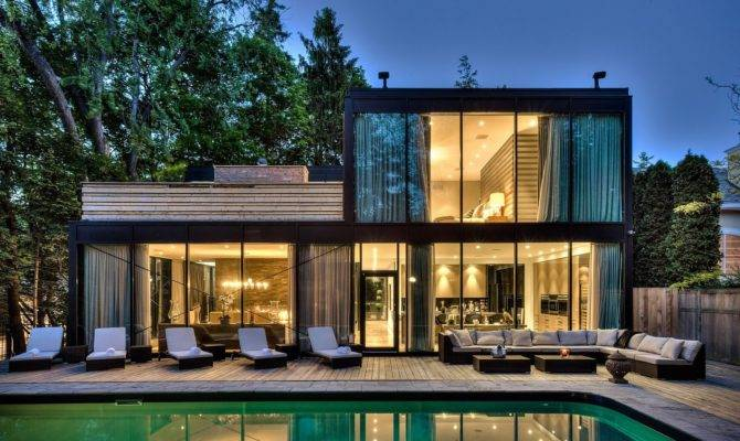 Four Houses Have Done Glass Right Property Tips