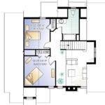 Four Season Cottage Second Floor Plan Sdl Custom Homes