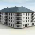 Four Stories Apartment Building Joy Studio Design Best