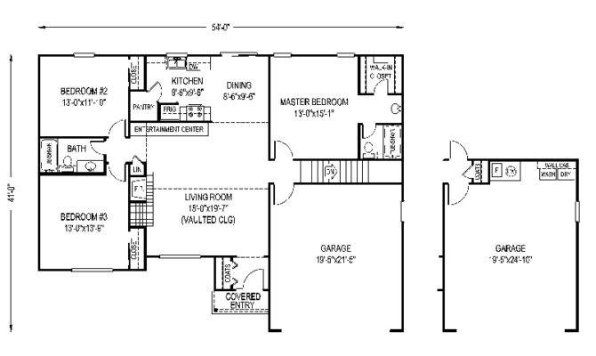 Fox Mill Modest Ranch Home Plan House Plans More