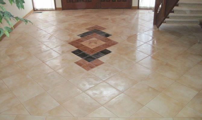 Foyer Tile Ideas Flooring Stabbedinback Luxury