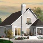 Frame Bedroom Cottage House Plan Drummond Plans Blog
