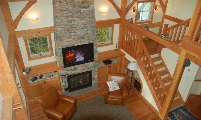 Frame Cabin Interior Timber