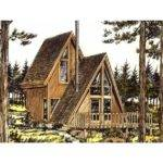 Frame House Plan One Bedroom Square Feet