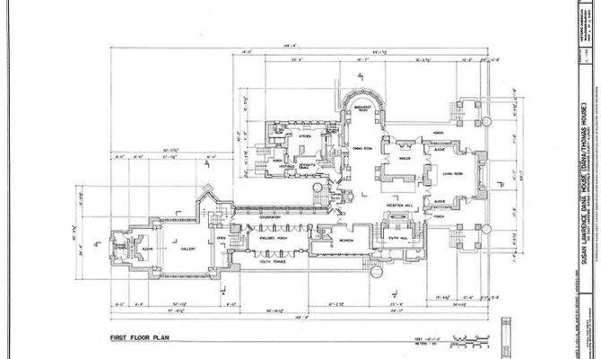 Frank Lloyd Wright Floor Plan House Plans Pinterest