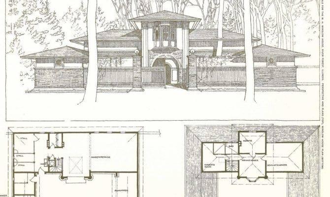 Frank Lloyd Wright Furniture Plans Home
