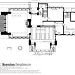 Frank Lloyd Wright House Excerpt Residential Floor Plans